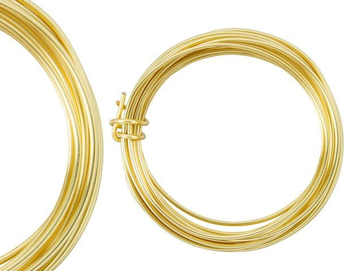 Artbeads Designer Wire - Gold Non-Tarnish 14 Gauge (10-foot coil)