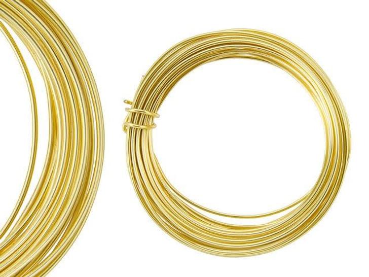 Artbeads Designer Wire - Gold Non-Tarnish 16 Gauge (15-foot coil)
