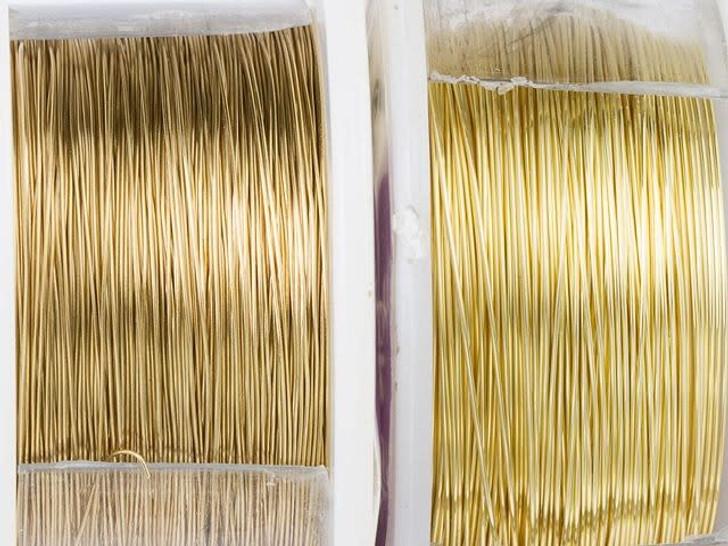 Artbeads Designer Wire - Gold Non-Tarnish 28 Gauge (45-foot spool)