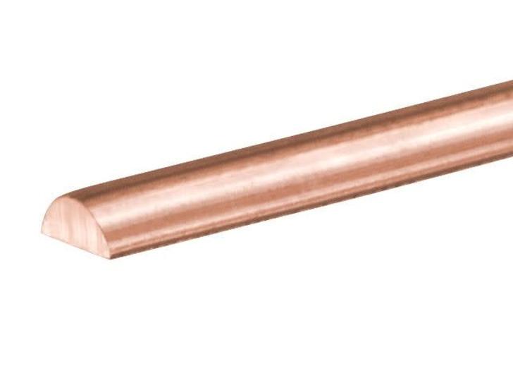 Artbeads Designer Wire - Half-Round 21 Gauge - 21 Feet Non-Tarnish Bronze