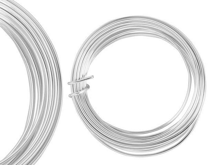 Artbeads Designer Wire - Silver Non-Tarnish 14 Gauge (10-foot coil)