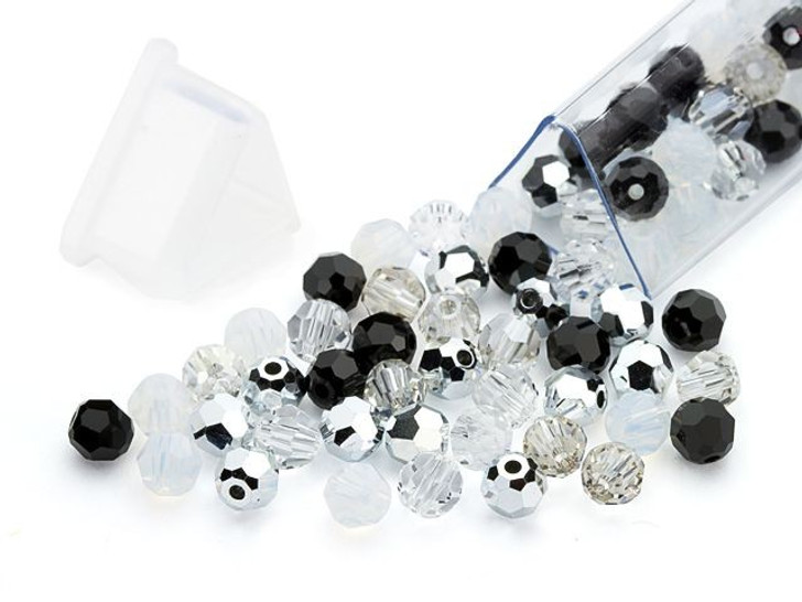 Swarovski 5000 4mm Round Formal Affair Designer Bead Blend