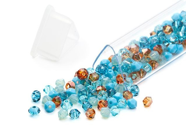 Swarovski 5328 3mm Bicone Southwest Flair Designer Bead Blend