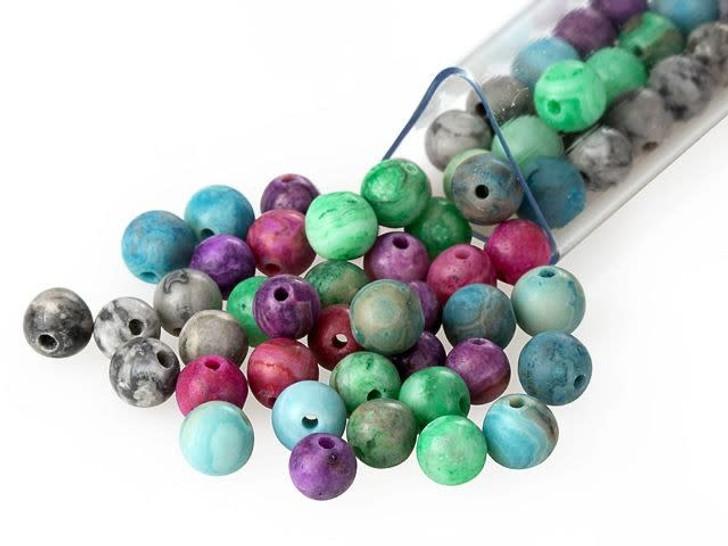 Artbeads Joy Designer Blend, 4mm Round Gemstone Beads