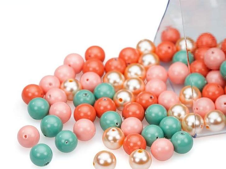Swarovski 5810 6mm Crystal Pearl Art Deco Designer Blend
