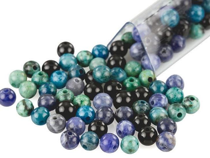 Artbeads Optimism Designer Blend, 4mm Round Gemstone Beads