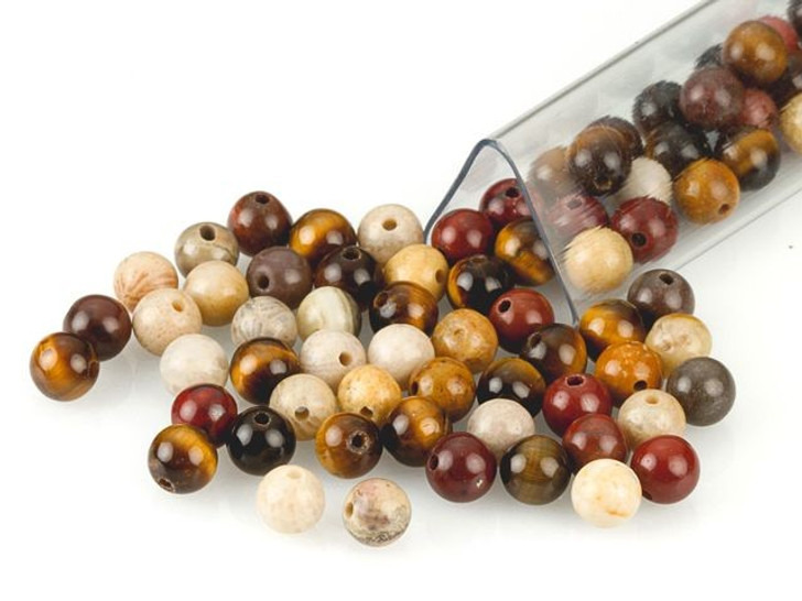 Artbeads Protection Designer Blend, 4mm Round Gemstone Beads