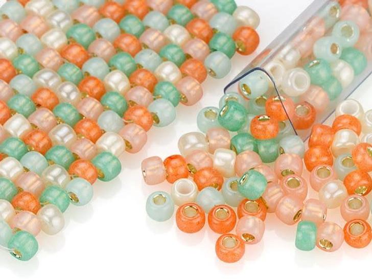 Artbeads Art Deco Designer Blend, 6/0 TOHO Round Seed Beads
