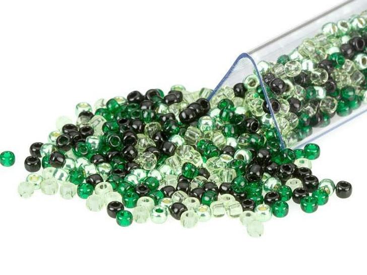 Artbeads Black Jade Designer Blend, TOHO 11/0 Round Seed Beads