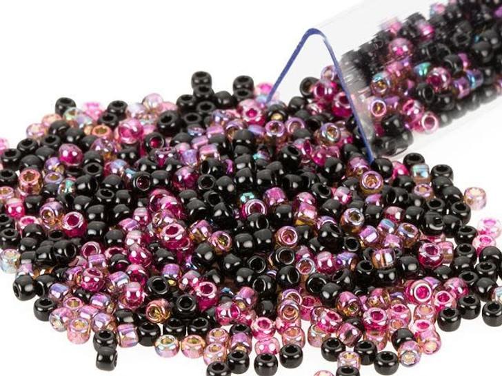 Artbeads Black Raspberry Designer Blend, TOHO 11/0 Round Seed Beads