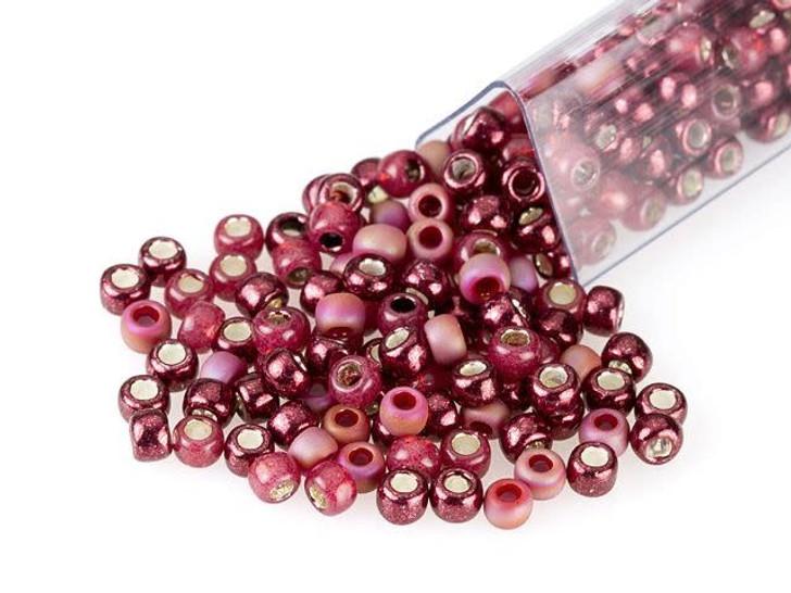 Artbeads Blended Burgundy Designer Blend, TOHO 8/0 Round Seed Beads