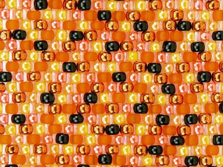 Artbeads Bright Halloween 8/0 TOHO Designer Seed Bead Blend