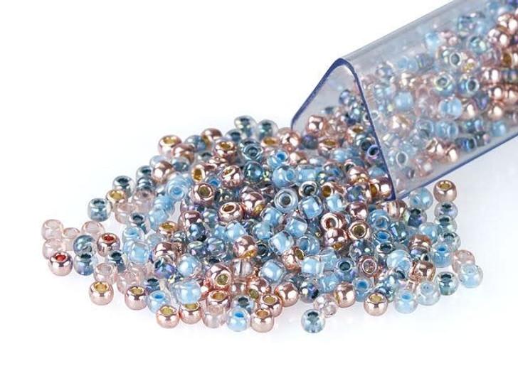 Artbeads Chambray Blush Designer Blend, TOHO 11/0 Round Seed Beads
