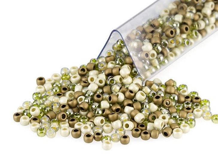 Artbeads Desert Sage Designer Blend, TOHO 11/0 Round Seed Beads