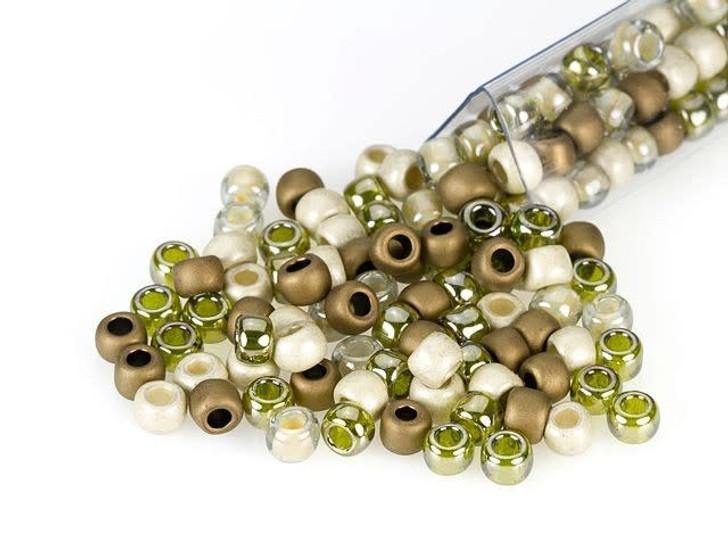 Artbeads Desert Sage Designer Blend, TOHO 6/0 Round Seed Beads