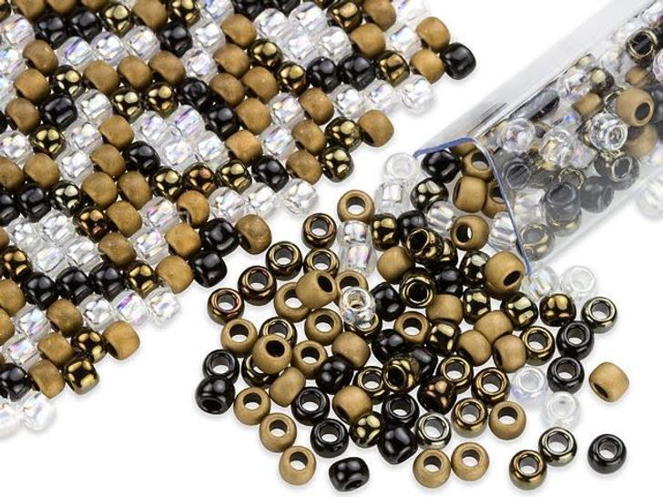 Artbeads Gilt-y Pleasure Designer Blend, 8/0 TOHO Round Seed Beads