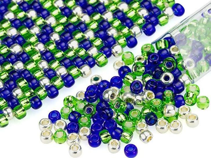 Artbeads Go Team Designer Blend, 8/0 TOHO Round Seed Beads