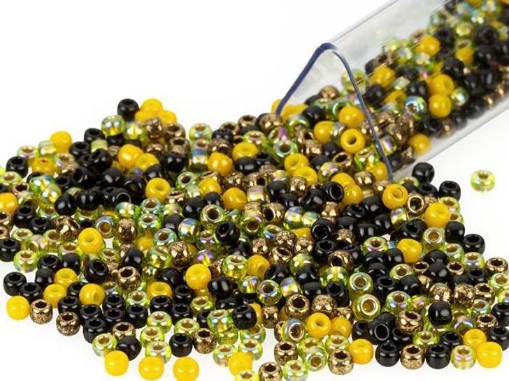 Artbeads Honeybee Meadow Designer Blend, TOHO 11/0 Round Seed Beads