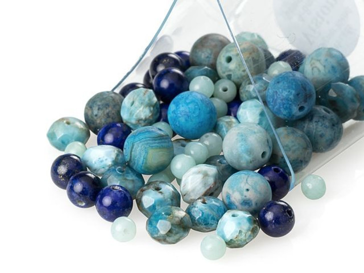 Artbeads Vision Designer Blend, 4-8mm Gemstone Beads