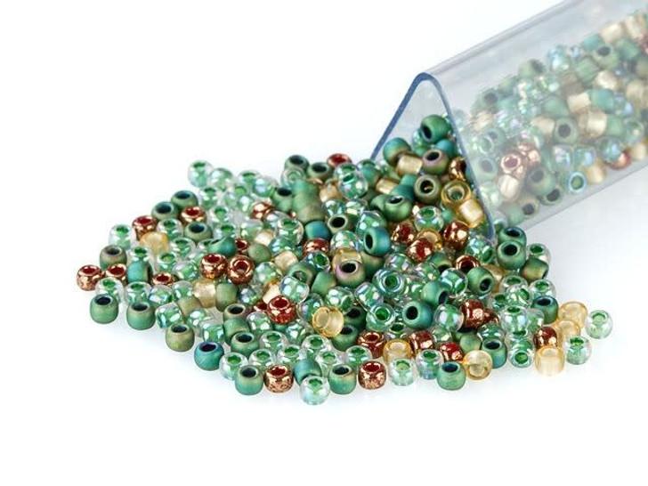 Artbeads Jungle Queen Designer Blend, TOHO 11/0 Round Seed Beads