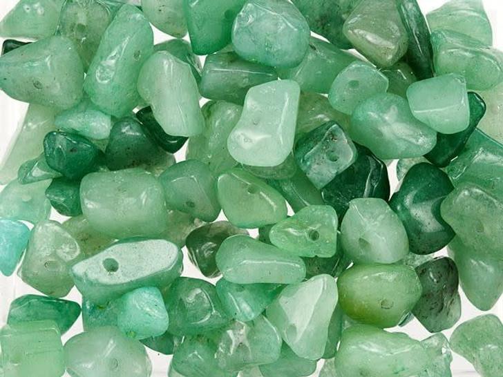 Aventurine Loose Gemstone Chip Beads 100g Bag
