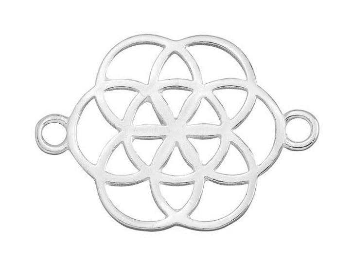 B&B Benbassat Sterling Silver Celtic Flower Link