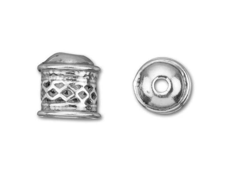 B&B Benbassat Sterling Silver Small Viking Knitting Endcap