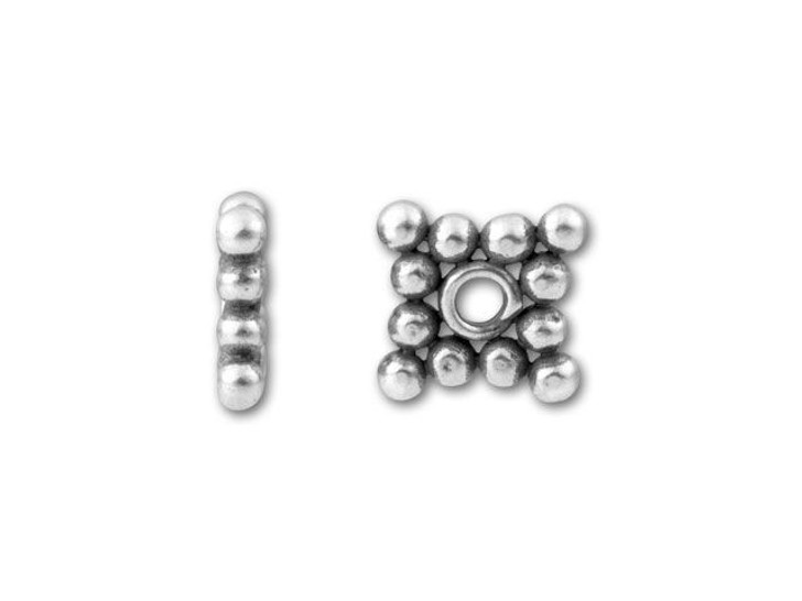 Bali Silver 9mm Diamond Spacer