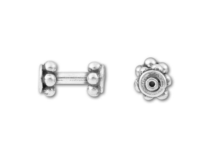 Bali Silver Barbell Spacer