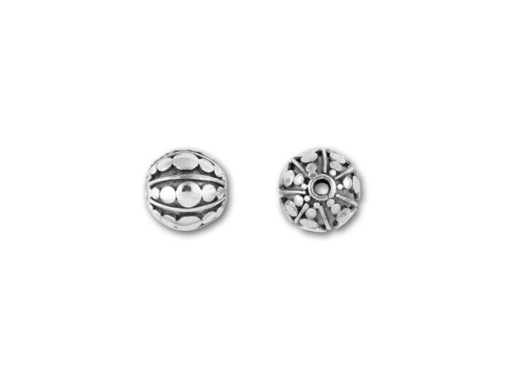 Bali Silver Graduated Dots Bead