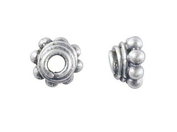 Bali Silver Small Beehive Bead Cap