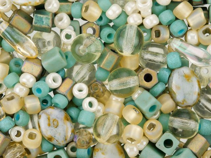 Beach Assorted Small Bead Mix 10 grams