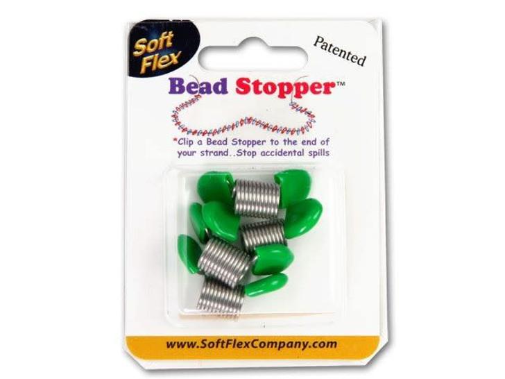 Bead Stopper 4-Pack - Green Tips