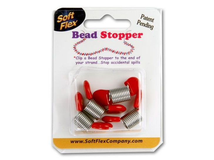 Bead Stopper 4-Pack - Red Tips
