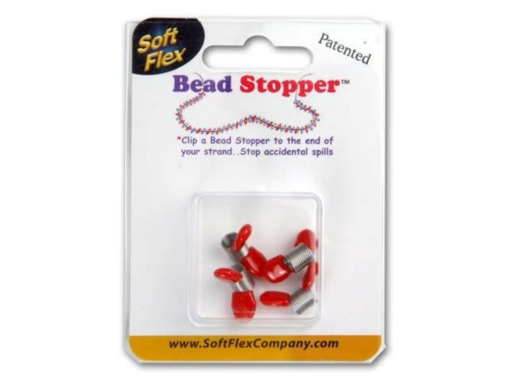 Bead Stopper Mini 4-Pack - Red Tips