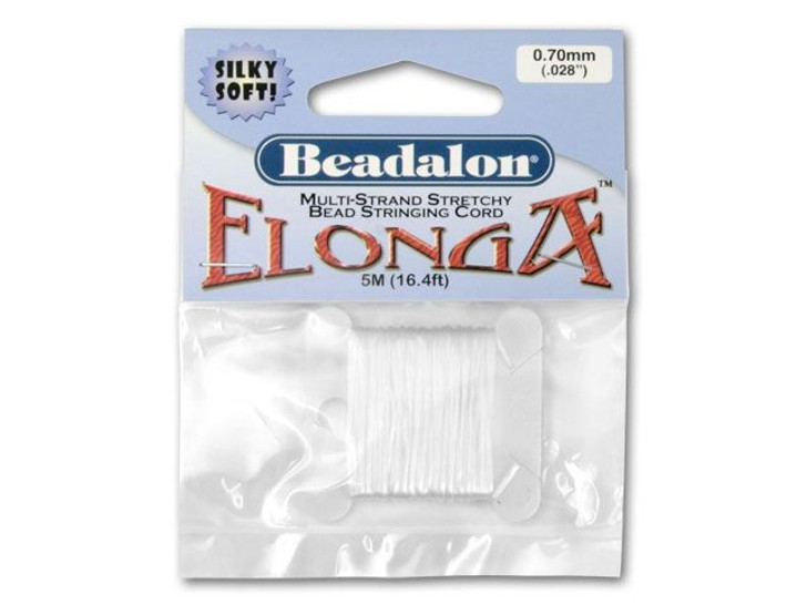 Beadalon Elonga Multi-Strand Stretch Cord - 0.7mm