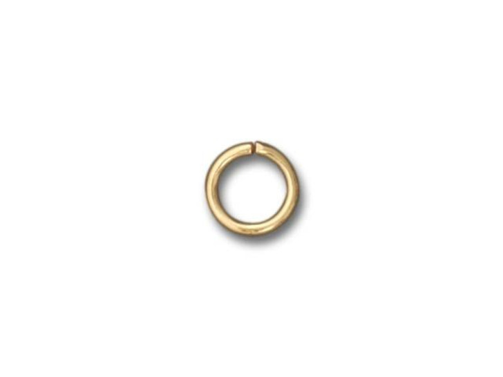 Beadalon Gold-Plated Jump Ring 6mm