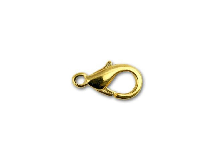 Beadalon Gold-Plated Mini Lobster Clasp