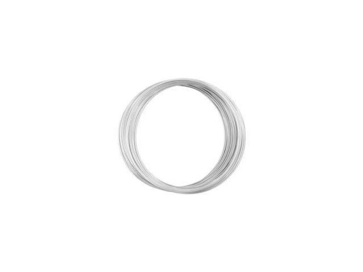 Beadalon Memory Wire Silver Bracelet 1oz