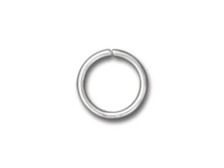 Beadalon Silver-Plated Jump Ring 10mm