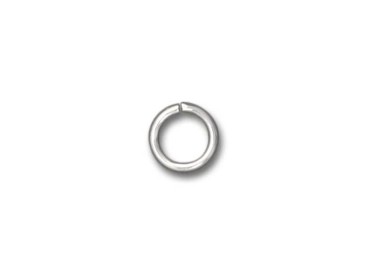 Beadalon Silver-Plated Jump Ring 6mm