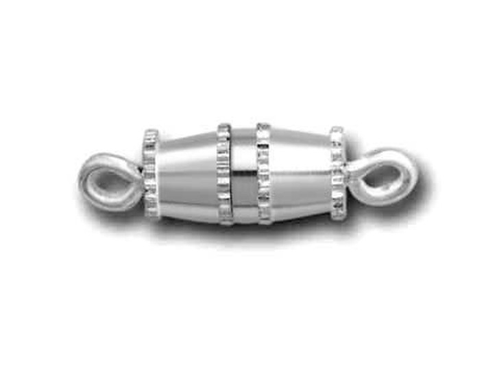 Beadalon Silver-Plated Small Barrel Clasp