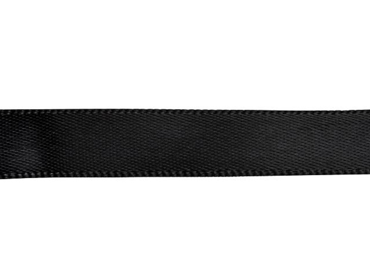 Black 3/8 Inch Satin Ribbon By the Foot