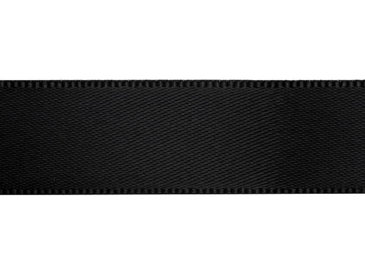 Black 5/8 Inch Satin Ribbon By the Foot