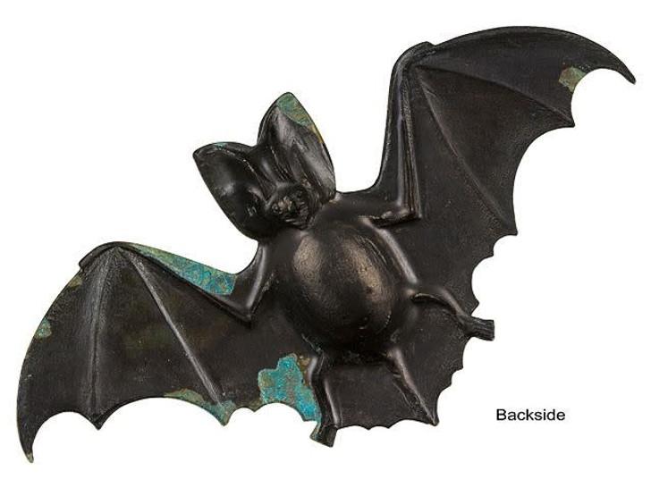 Brass Large Bat with Patina Finish Embellishment