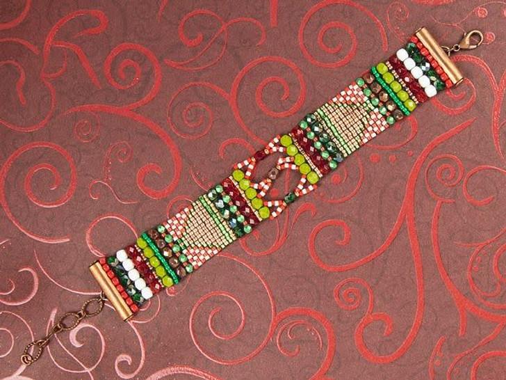 Candy Cane Mountain Paths Bracelet Kit