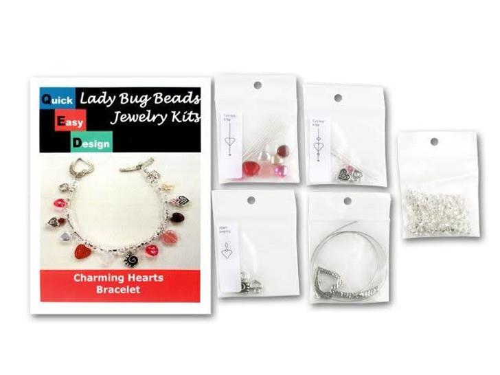 Charming Hearts Bracelet Kit