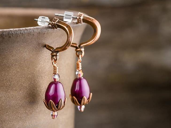 Clear Rubber Earwire Clutch