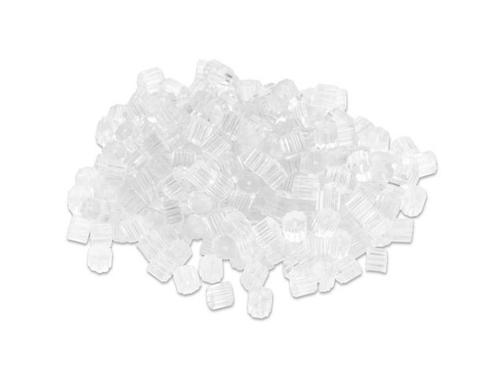 Artbeads Clear Rubber Earwire Clutch, Pro Pack (250 Pcs)