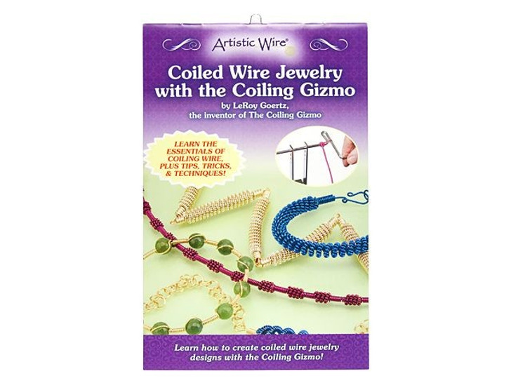 Coiled Wire Jewelry with Coiling Gizmo by LeRoy Goertz